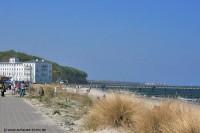 Strandpromenade im Ostseeheilbad Heiligendamm